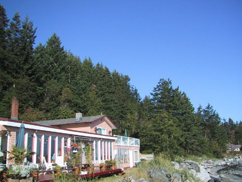 Vancouver Island oceanfront B&B