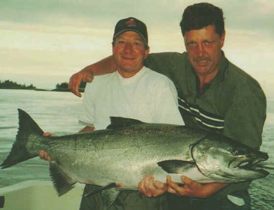 catch big salmon - coho pink king tyee sockeye